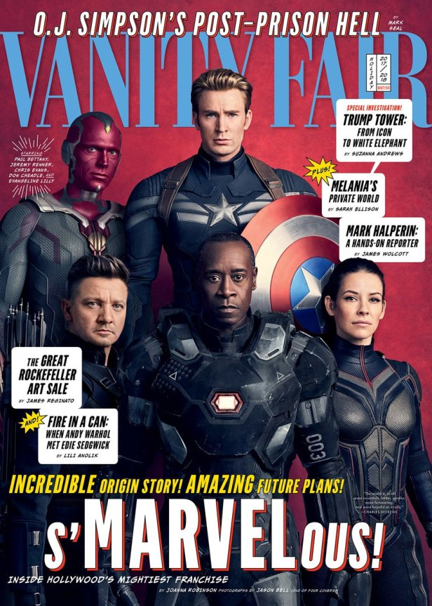 avengers infinity war vanity fair covers 2