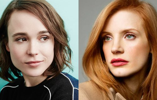 ellen page and jessica chastain
