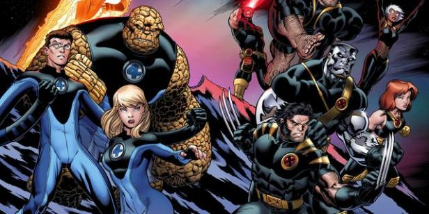 fantastic four and x-men ultimate comics