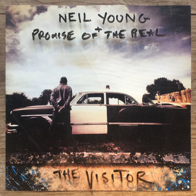 neil young the visitor cover