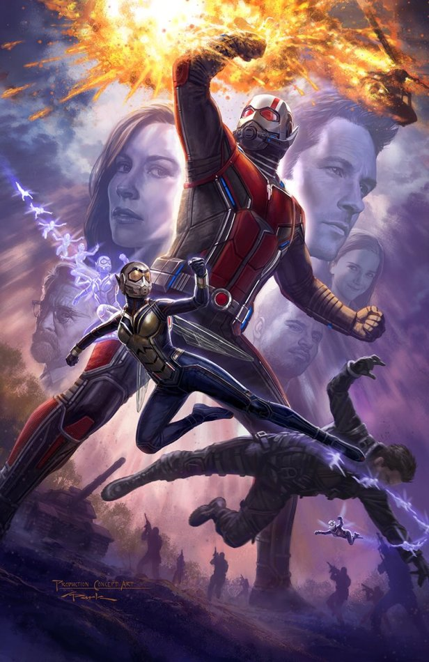 ant-man-and-the-wasp comic con poster