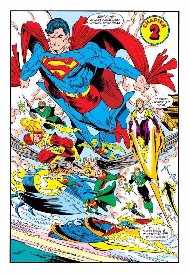 dc comics Invasion 3