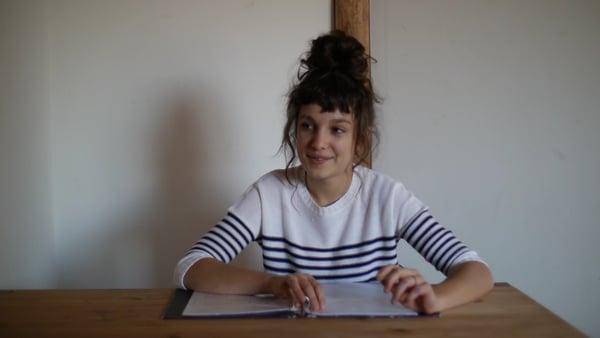 Louna Fournier cast test to gwen stacy