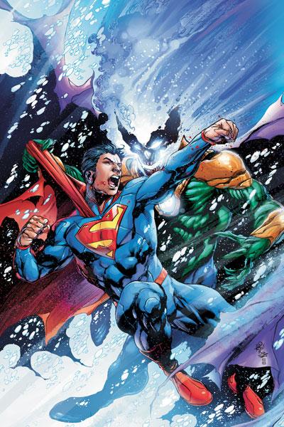 superman vs helspont by ivan reis