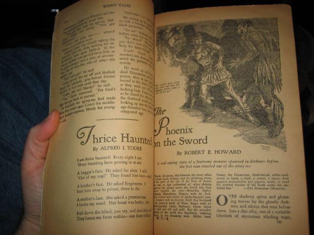 conan the phoenix on the sword in weid tales