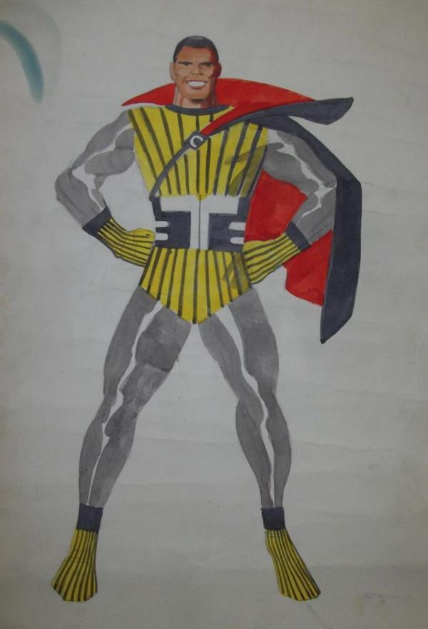 black panther Coal_tiger jack kirby first draw