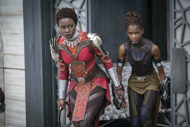 Black-Panther nakia and shuri