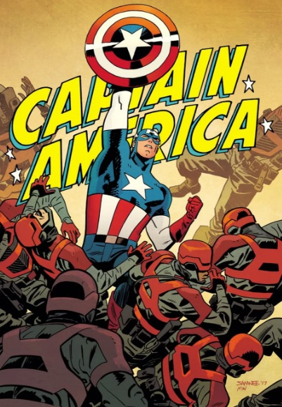 captain america by