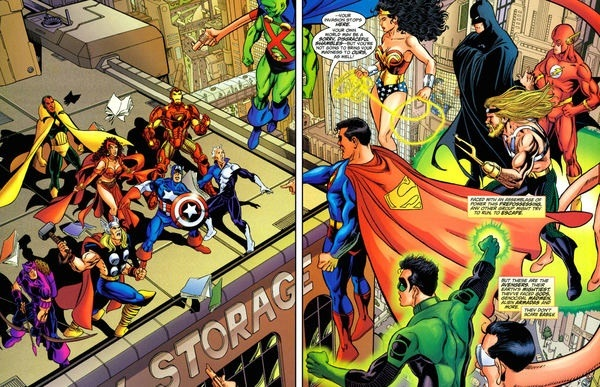 JLA avengers first meeting by busiek and perez