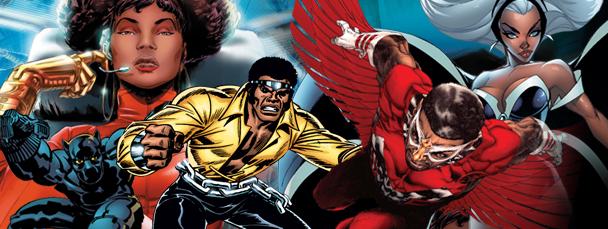 marvel's black heroes