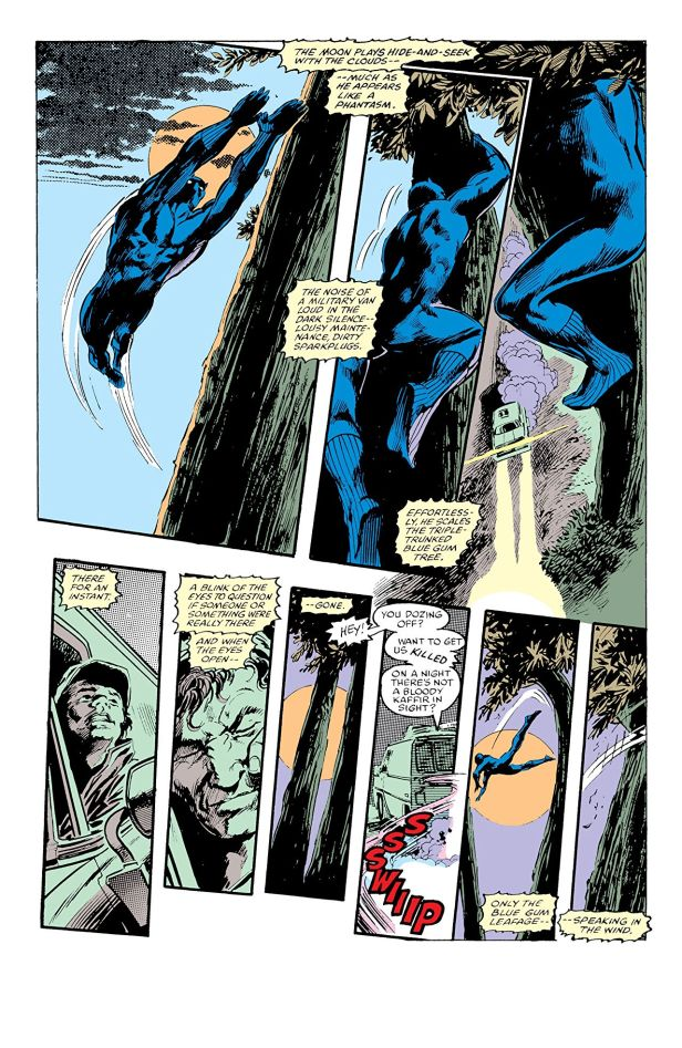 panther's quest internal art from gene colan