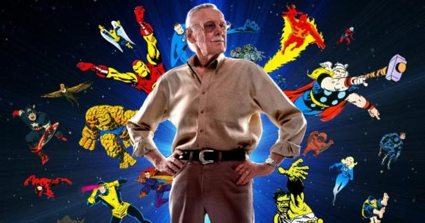 stan lee and his creactions