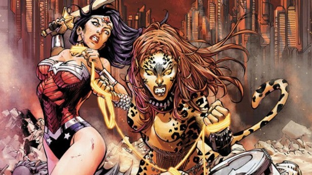 Wonder-Woman-vs-Cheetah the new 52