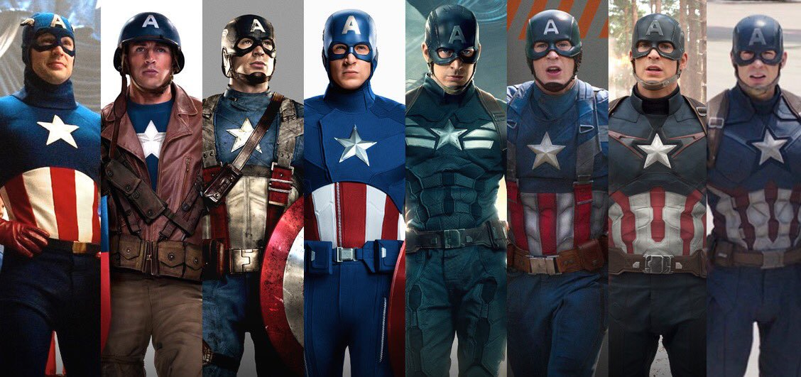 captain america movie costumes