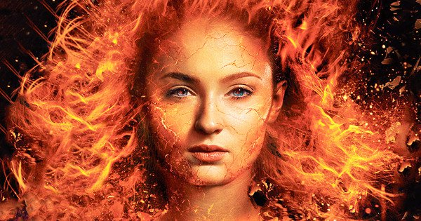 Dark-Phoenix-Movie banner jean face