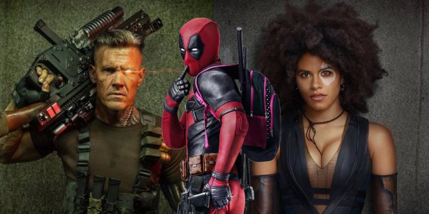 deadpool 2 Cable and Domino