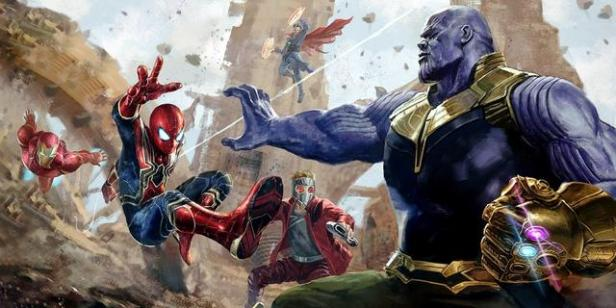 Infinity-_War-_Thanos-_Spider-_Man-_Art-_The_Knott14