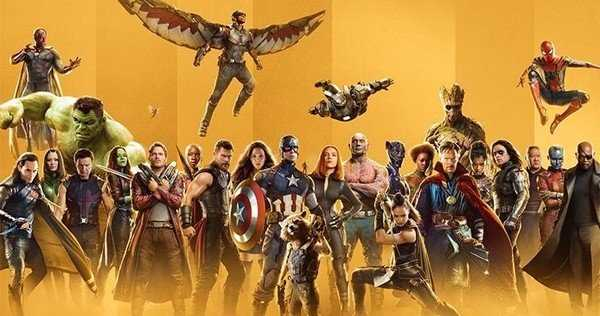 marvel studios all heroes