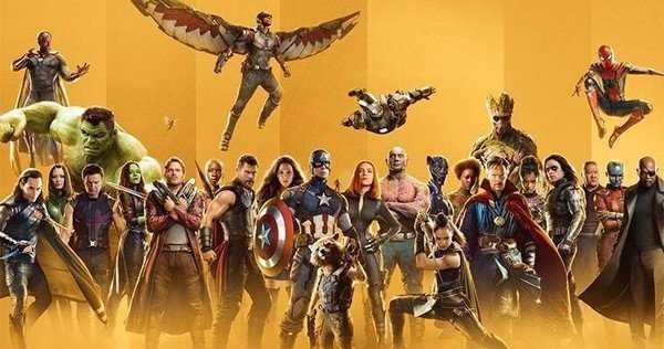 marvel studios all heroes