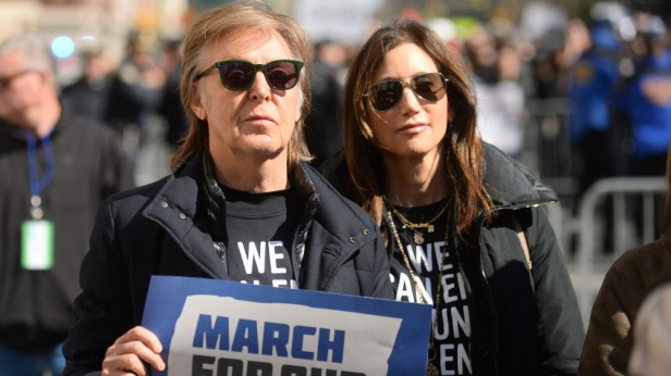 'March For Our Lives' protest, New York, USA - 24 Mar 2018