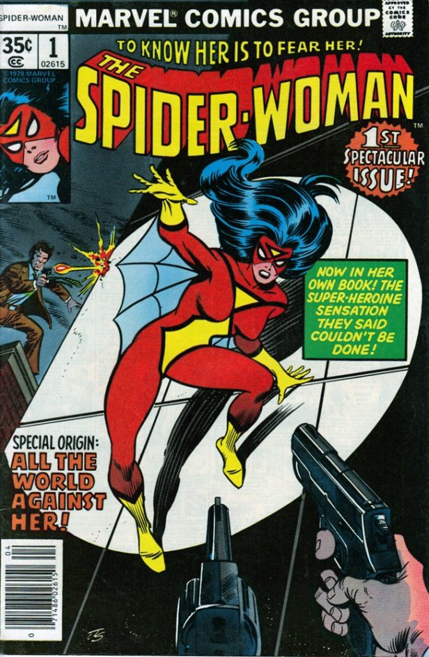 spider-woman 01 cover