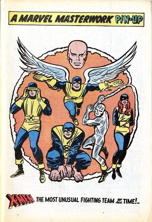 x-men classic costumes by jack kirby