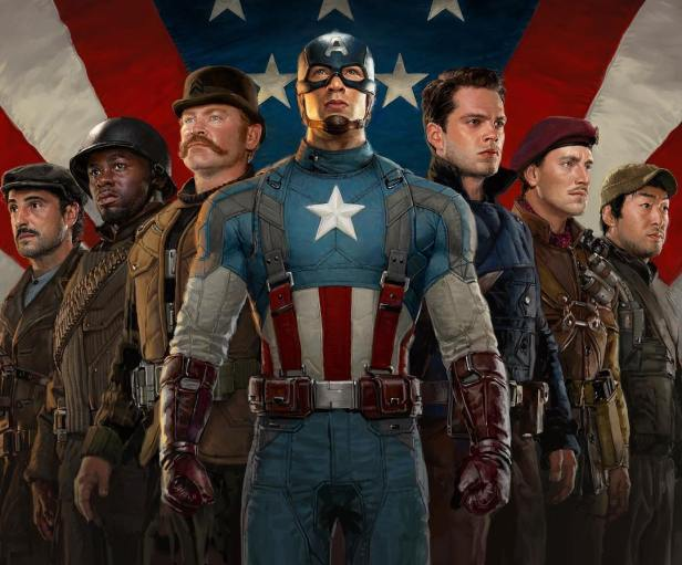 captain america and the howling commados movie version