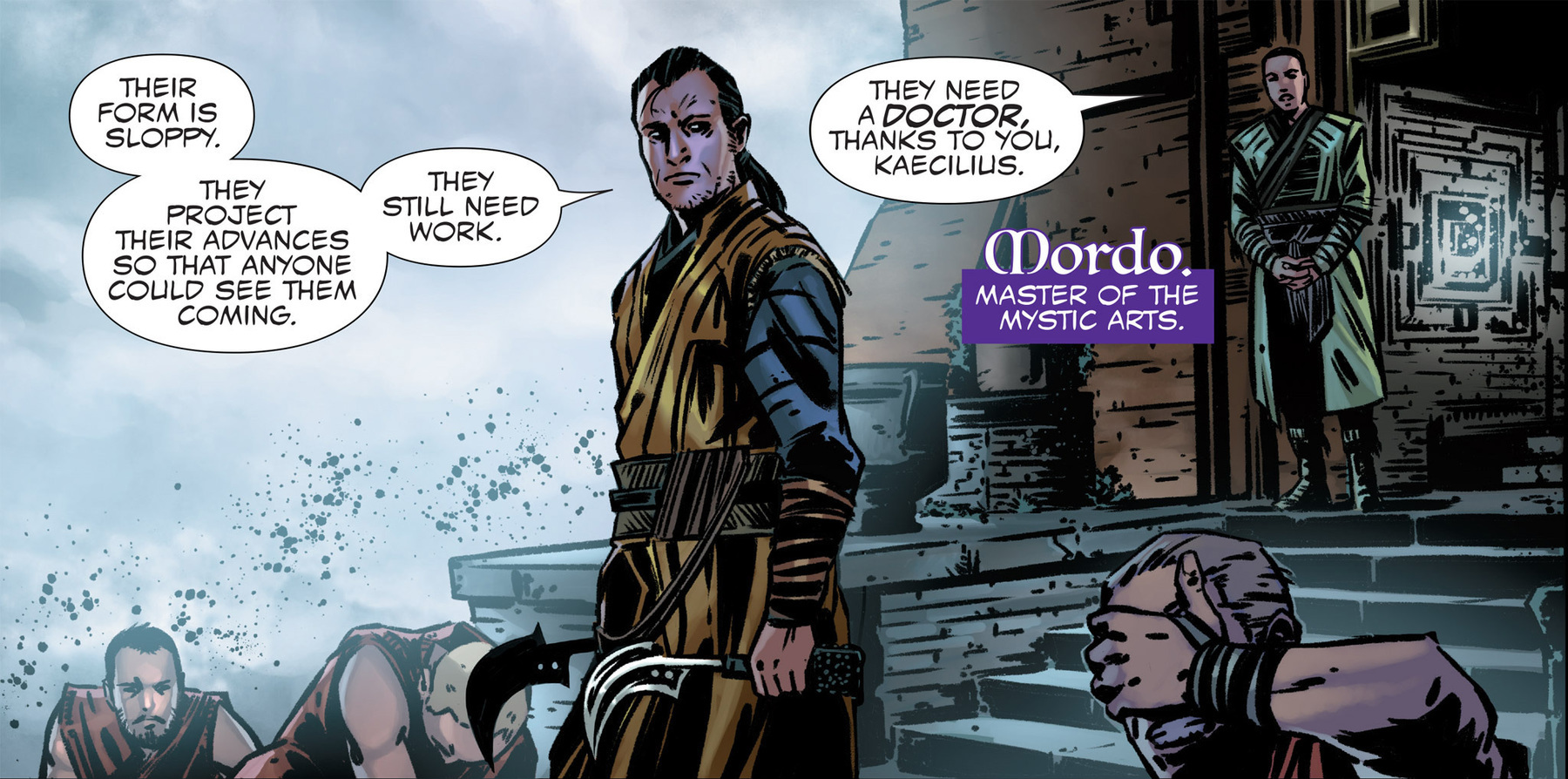 doctor strange Kaecilius_and_Mordo comics adaptatiion tie-in