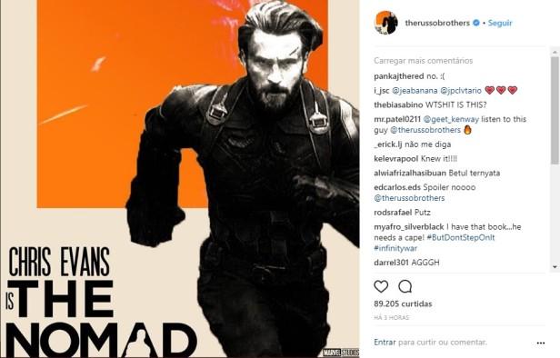 infinity war nomad confirmed
