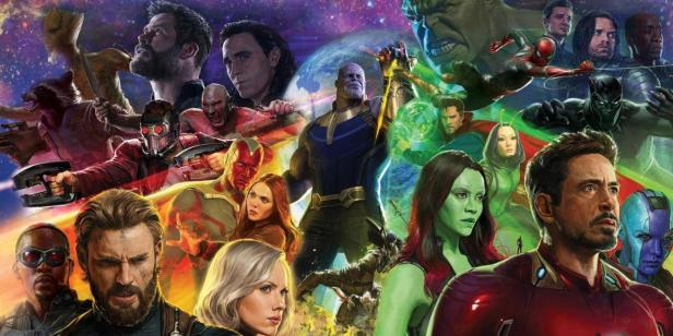 infinity war the first promo art complete