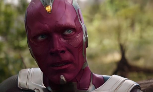 infinity war the vision