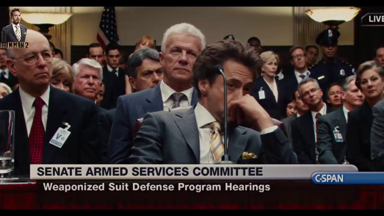 iron man 2 senate audience