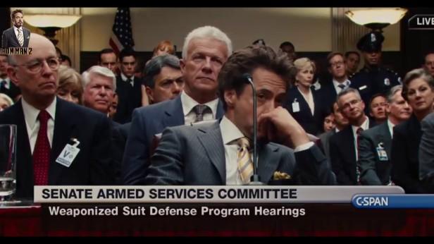 iron man 2 senate audience
