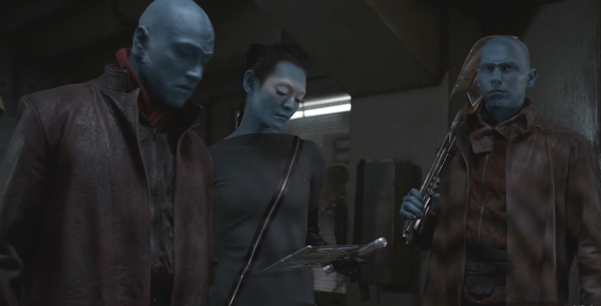 kree from marvel (agents of shield)