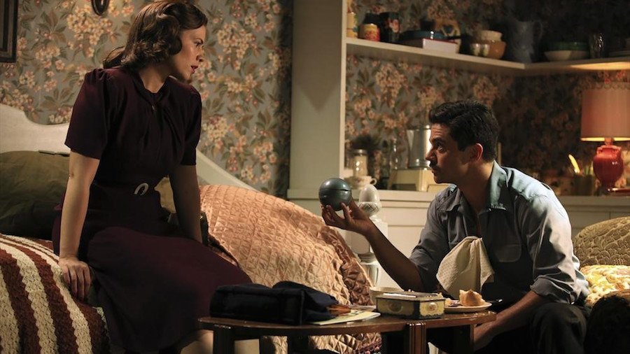 peggy carter and howard stark