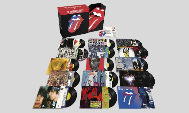 rolling stones vnyl collection 2018 bigger