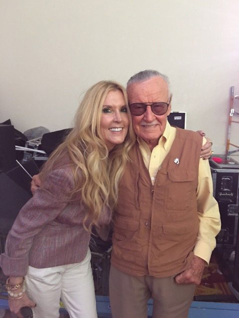 Stan Lee and JC-Lee