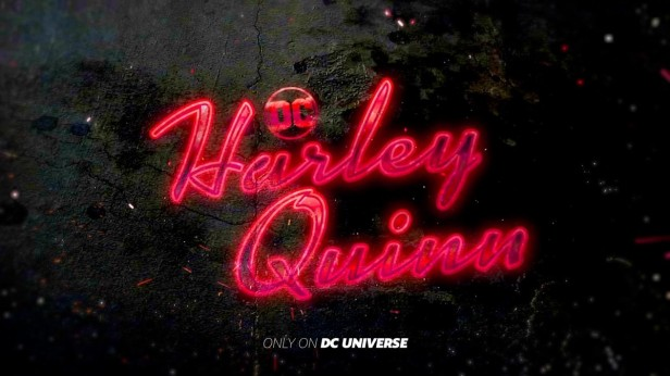 dc universe harley quinn logo