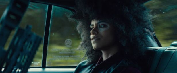deadpool 2 domino in the cab
