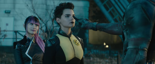 deadpool 2 Negasonic-Teenage-Warhead and yukio