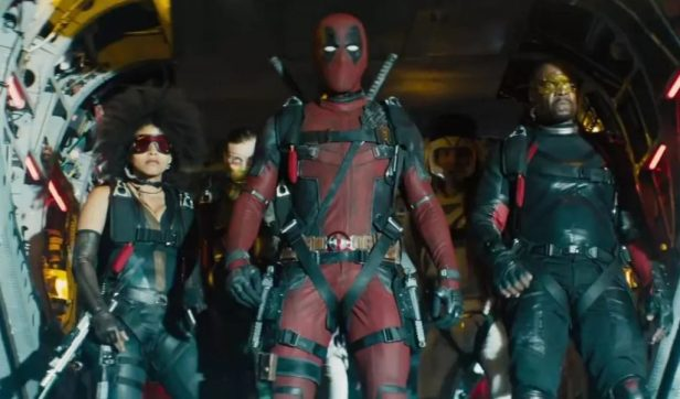 deadpool-2 the team
