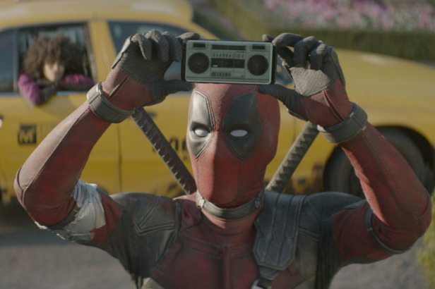 deadpool-2 with portable sound and cab