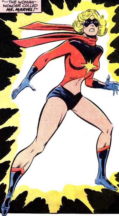 ms-marvel original costume first