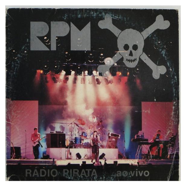 RPM rádio pirata ao vivo capa