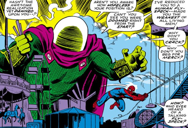 spider-man mysterio giant