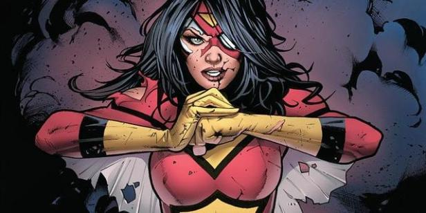 spider-woman ready to punch
