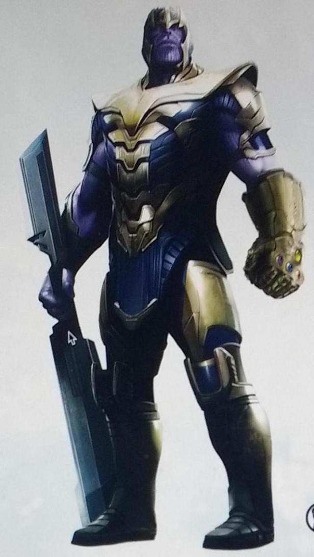 avengers 4 thanos armor suit