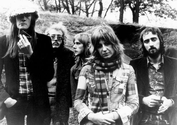 Fleetwood-Mac with chrstine mcvie and danny kirwan