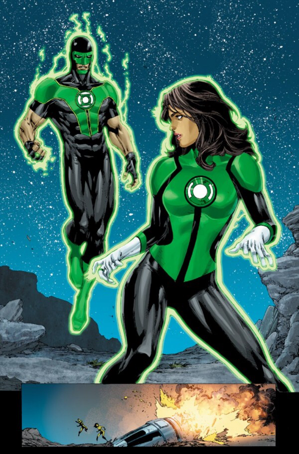 green lantern simon baz and jessica cruz