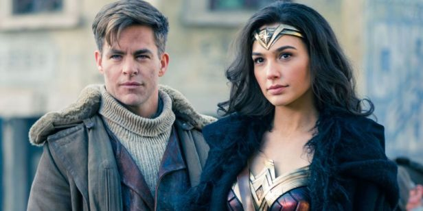 wonder-woman-gal-gadot and chris pine steve trevor
